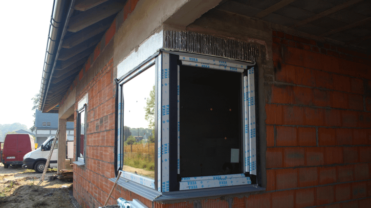 docieplenie nadproża okiennego