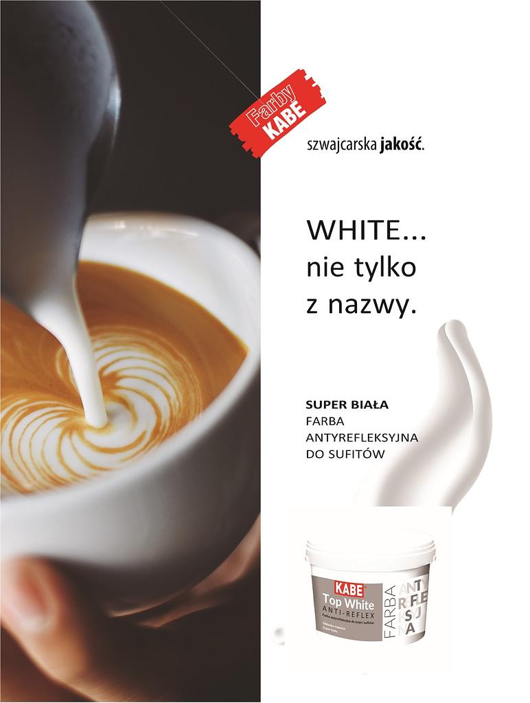 Farba Kabe Top White nr 1 Nowości