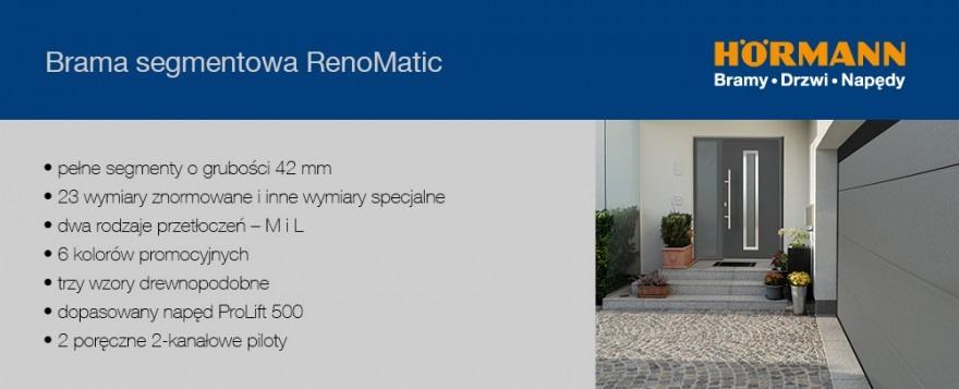 Brama segmentowa RenoMatic
