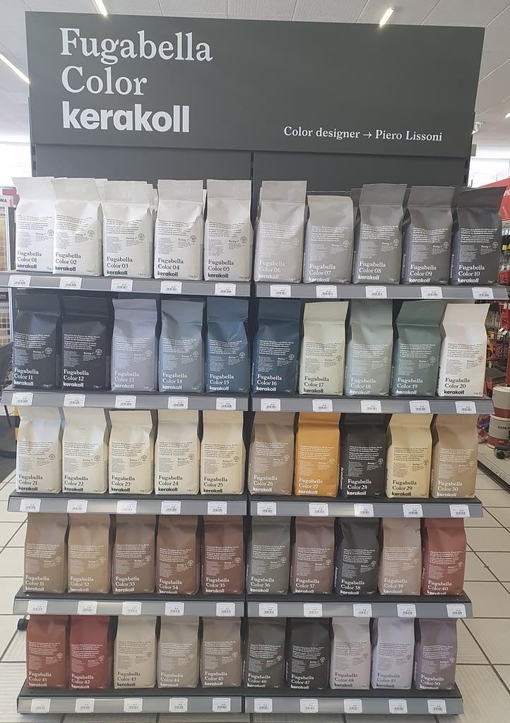 50 nowych kolorów Fugabella Color Kerakoll Polska fuga