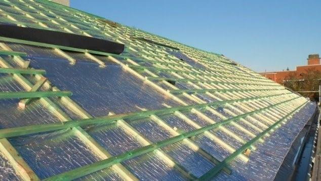 izolacja Aluthermo® do ocieplenia dachu